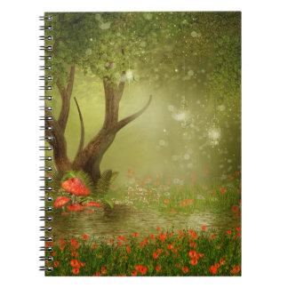 Cuaderno encantado de la charca del verano