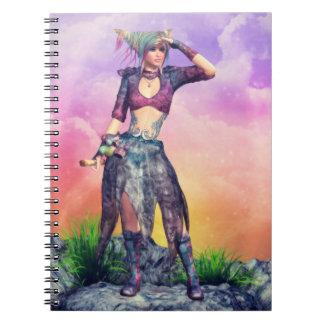 Cuaderno encantado de la perspectiva