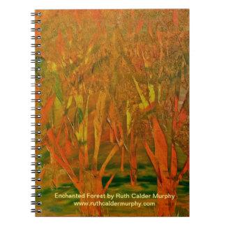 Cuaderno encantado del bosque