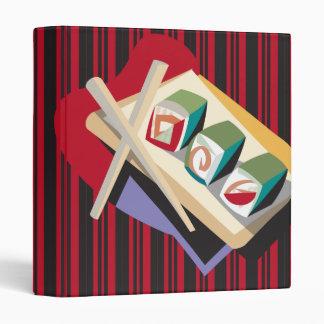 """cuaderno enrrollado del sushi carpeta 1"""""""