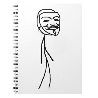 Cuaderno épico del individuo del fall