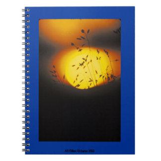 Cuaderno escénico de la salida del sol de AfriMex