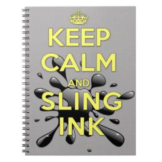 Cuaderno espiral alineado