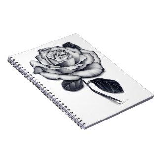 Cuaderno espiral color de rosa
