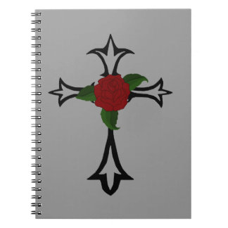Cuaderno espiral cruzado tribal