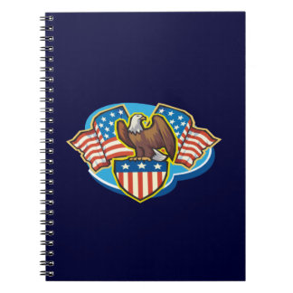 Cuaderno espiral de American Eagle
