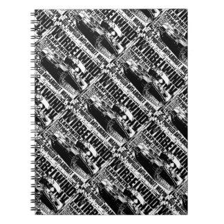 Cuaderno espiral de la foto de Wirbelwind
