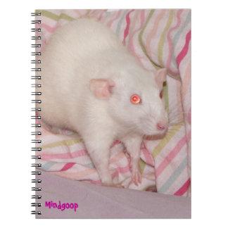 Cuaderno espiral de la rata de Dumbo