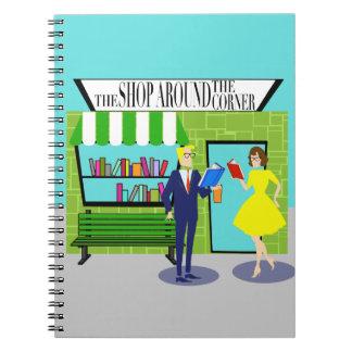 Cuaderno espiral de los aficionados a los libros