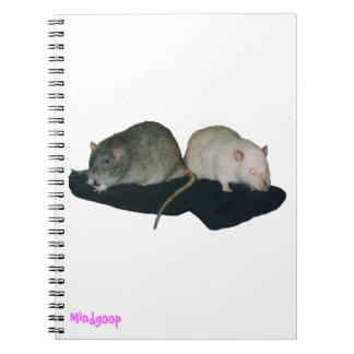 cuaderno espiral de los amigos de la rata