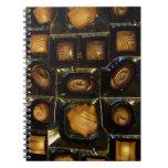 Cuaderno espiral de los chocolates