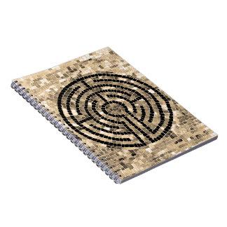 Cuaderno espiral del laberinto V