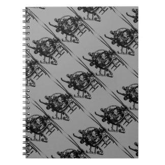 Cuaderno espiral del pequeño pájaro MH-6