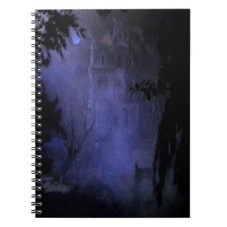 Cuaderno espiral frecuentado de la casa de la