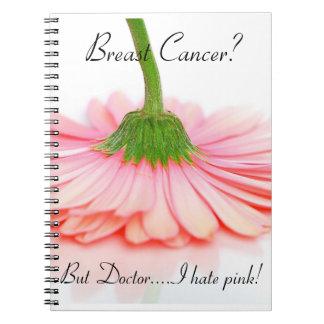Cuaderno espiral para el superviviente del cáncer