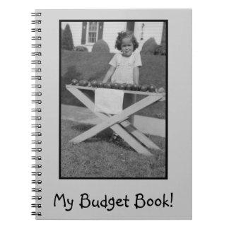 Cuaderno espiral para presupuestar