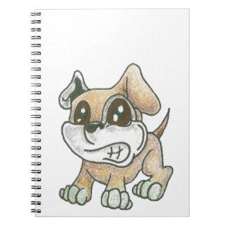 Cuaderno espiral - perro de la mascota de TOWT
