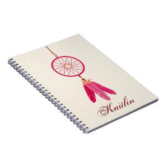 Cuaderno espiral personalizado colector ideal rosa