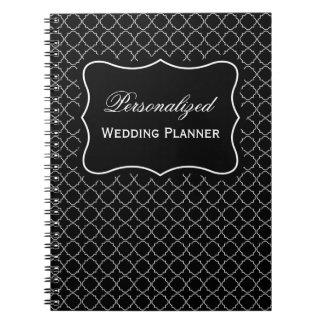 Cuaderno espiral personalizado del planificador co