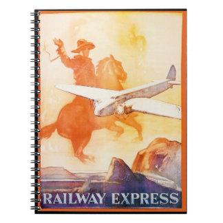 Cuaderno expreso 1935 de la foto de la agencia del