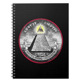 Cuaderno extraño del ojo Todo-Que ve