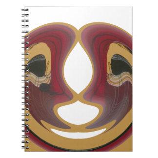 Cuaderno extraño lindo del regalo inestimable de H