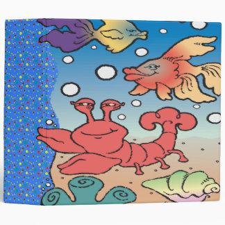 """cuaderno feliz de la vida marina carpeta 2"""""""