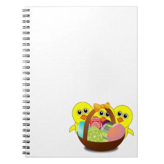 Cuaderno feliz de Pascua