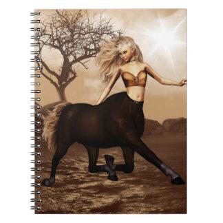 Cuaderno femenino del Centaur