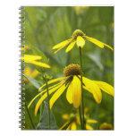 cuaderno - flor