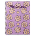 Cuaderno floral