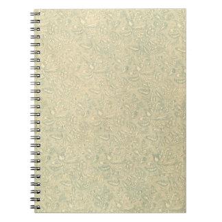 Cuaderno floral sabio del vintage