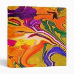 cuaderno floral tropical del arte