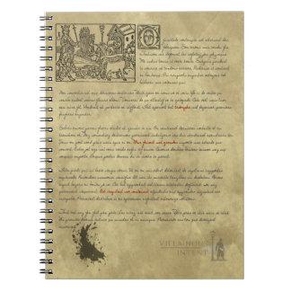 Cuaderno francés antiguo