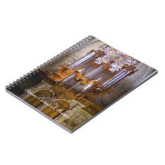 Cuaderno francés del órgano de la catedral
