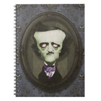 Cuaderno frecuentado del Poe del zombi