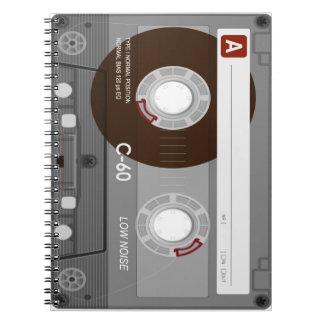 Cuaderno fresco de CassetteTape