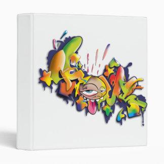 cuaderno fresco del diseño de la pintada