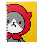 Cuaderno - gatito - amarillo