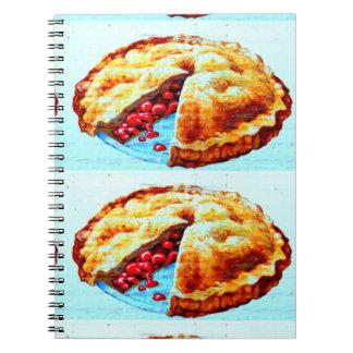 cuaderno gemelo de las empanadas de la cereza