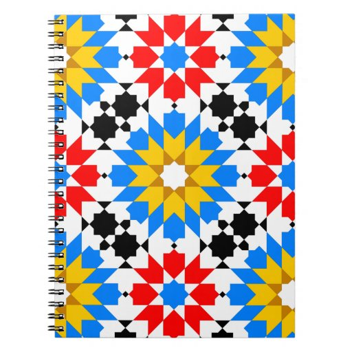 Cuaderno geométrico islámico del modelo