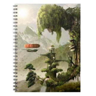 Cuaderno gigante de la fantasía del sauce