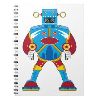 Cuaderno gigante del robot de Mecha