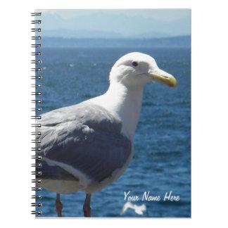 cuaderno Glauco-con alas de la gaviota
