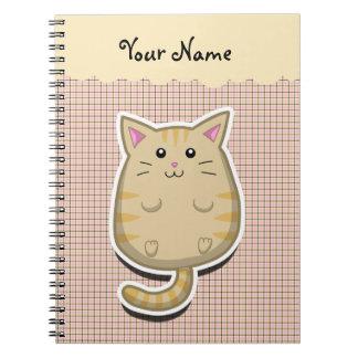 Cuaderno gordo del gato