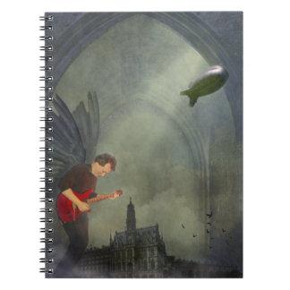 Cuaderno gótico de la guitarra