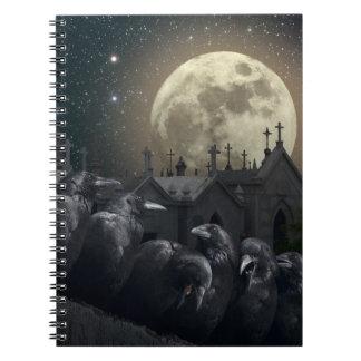 Cuaderno gótico de los cuervos