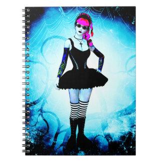 Cuaderno gótico del arte de Lolita
