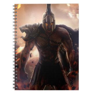 Cuaderno gótico del gladiador