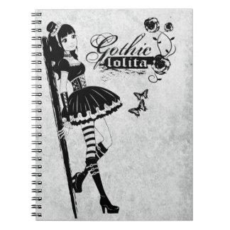 Cuaderno gótico del lolita